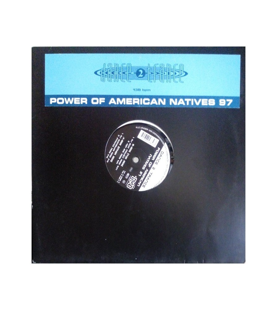Dance 2 Trance – Power Of American Natives 98 (IMPORT)