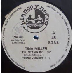 Tina Miller ‎– I'll Stand By You (BLANCO Y NEGRO)