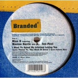 Miss B Featuring Maxine Barrie With Guest Jon-Paul – I Want To Spend My Lifetime Loving You
