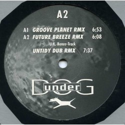 DJ Quicksilver ‎– Planet Love (Remixes)