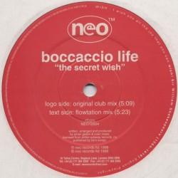 Boccaccio Life – The Secret Wish (Neo Records)