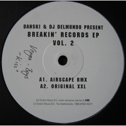 Danski & DJ Delmundo ‎– Breakin' Records EP Vol. 2
