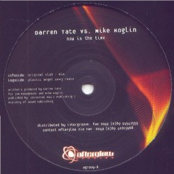 Darren Tate vs. Mike Koglin ‎– Now Is The Time