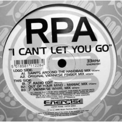 RPA ‎– I Can't Let You Go