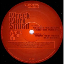 Wreck Worx Squad ‎– Wreck Shop EP