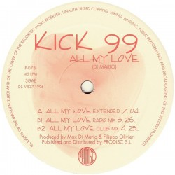 Kick 99 - All My Love (PRO DISC¡)