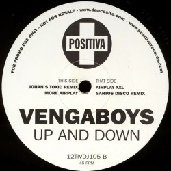 Vengaboys ‎– Up And Down (POSITIVA RECORDS)
