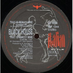 Black House – That Is Really Mine (ITALIAN STYLE)