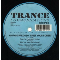 Prezioso ‎– Raise Your Power (BONZAI TRANCE)