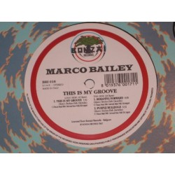 Marco Bailey ‎– This Is My Groove