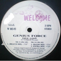 Genius Force ‎– Give Love
