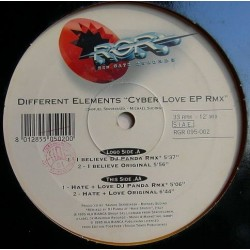 Different Elements ‎– Cyber Love EP