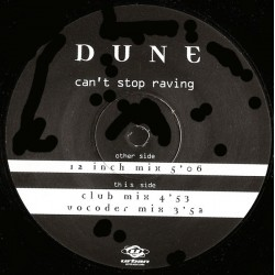 Dune  ‎– Can't Stop Raving (URBAN)
