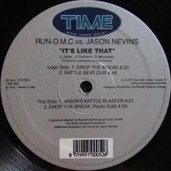 Run DMC vs. Jason Nevins – It's Like That  (TIME RECORDS)