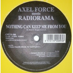 Axel Force Meets Radiorama ‎– Nothing Can Keep Me From You