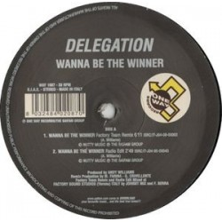 Delegation – Wanna Be The Winner (COPIA NUEVA,SELLO BLANCO Y NEGRO¡¡