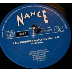 Nance ‎– Big Brother Is Watching You