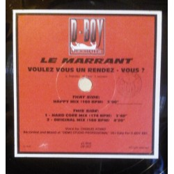 Le Marrant – Voulez-Vous Un Rendez-Vous (D-BOY RECORDS)