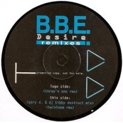 BBE ‎– Desire (Remixes)