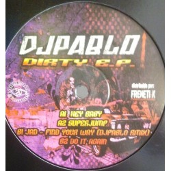 Dj Pablo - Dirty EP (ARSENAL RECORDS)