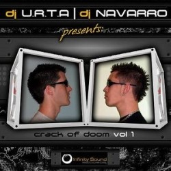 DJ URTA & DJ Navarro ‎– Crack Of Doom Vol 1