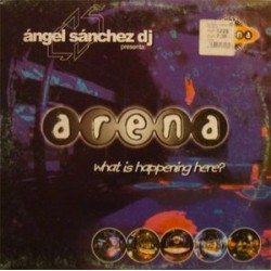 Angel Sanchez ‎– What Is Happening Here / Welcome To The Best Club