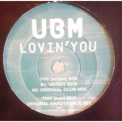 UBM ‎– Lovin You (BMG UK)