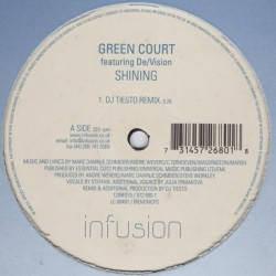 Green Court Featuring De Vision ‎– Shining
