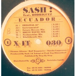 Sash Feat. Rodriguez – Ecuador (IMPORT ALEMAN)