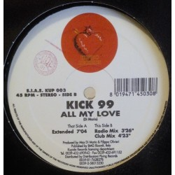 Kick 99 – All My Love (JOYA ITALO)