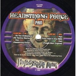 Headstrong Force ‎– Pain
