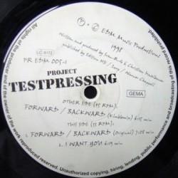Project Testpressing – Forward/Backward