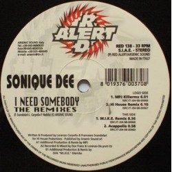 Sonique Dee ‎– I Need Somebody (The Remixes)