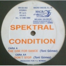 Spektral Condition ‎– The One For Dance