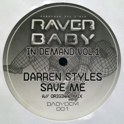 Darren Styles ‎– Raver Baby In Demand Vol.1
