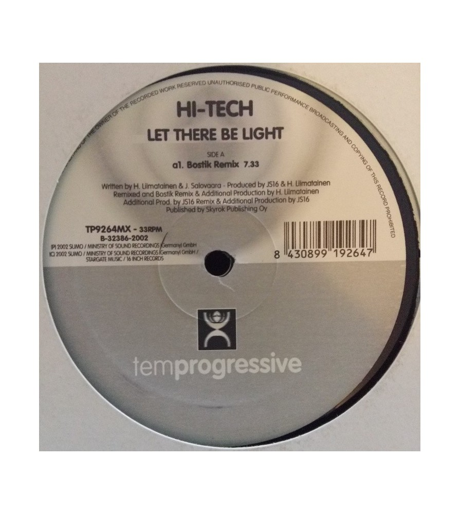 Hi-Tech - Let There Be Light