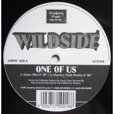 Wildside - One Of Us