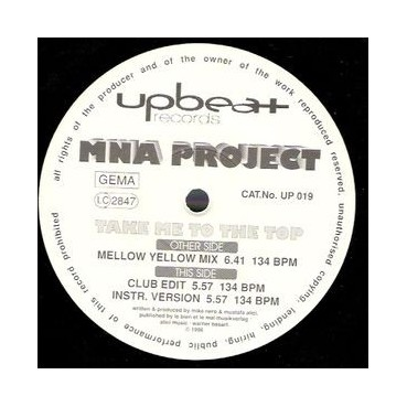 MNA Project ‎– Take Me To The Top