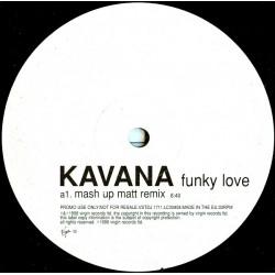 """Kavana - Funky Love (12"""", Promo)"""