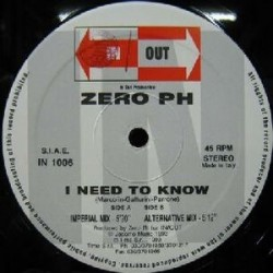Zero PH ‎– I Need To Know
