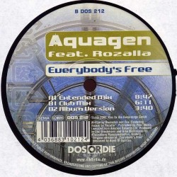 Aquagen feat. Rozalla - Everybody's Free(CABRA REMEMBER¡¡)