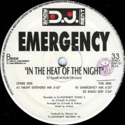 Emergency ‎– In The Heat Of The Night