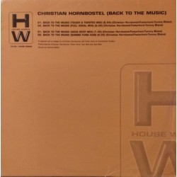 Christian Hornbostel ‎– Back To The Music