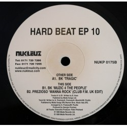 BK / Prezioso – Hard Beat EP 10 (INCLUYE EL TEMAZO MUSIC 4 THE PEOPLE¡¡)