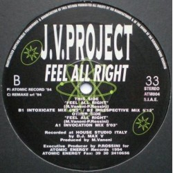 JV Project ‎– Feel All Right