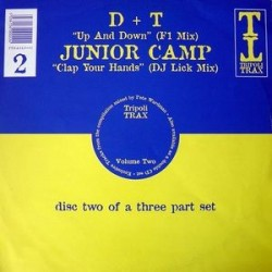 D & T / Junior Camp ‎– Tripoli Trax Volume Two (Disc 2)