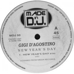 Gigi D'Agostino – New Year's Day (2 MANO,SELLO MADE IN DJ¡)
