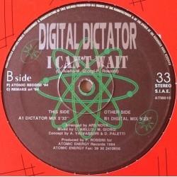 Digital Dictator – I Can't Wait