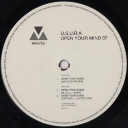 USURA – Open Your Mind 97 (MALARKY RECORDS)