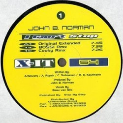 John B. Norman ‎– I Can't Stop